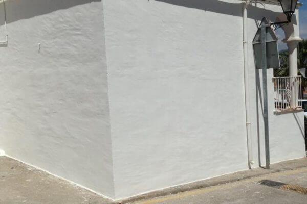 rising damp wall treated