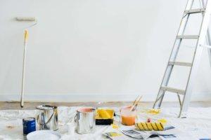 preparacion pintura de casa